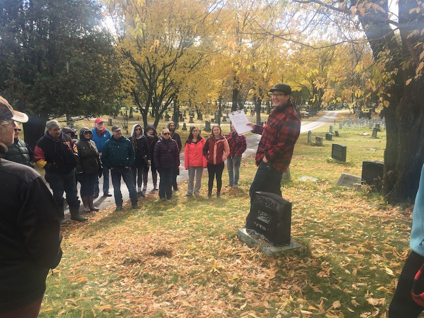 Lake of the Woods Cemetery Tour August 28