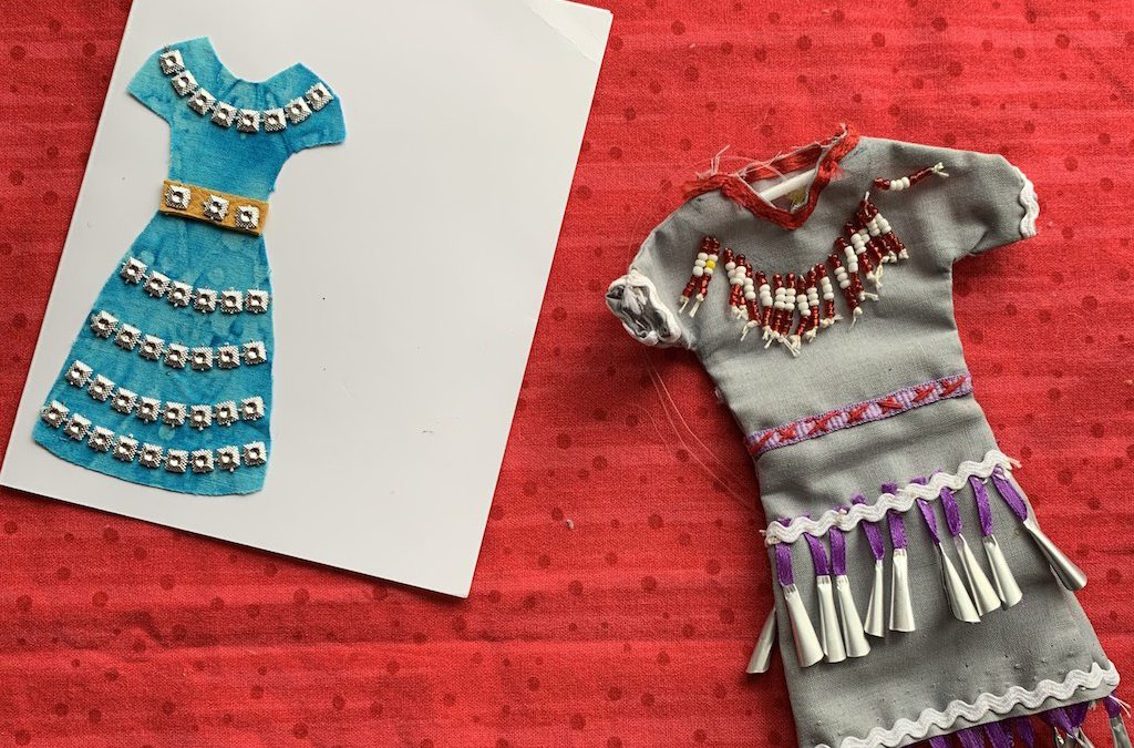 Jingle Dress Cards & Mini Jingle Dresses