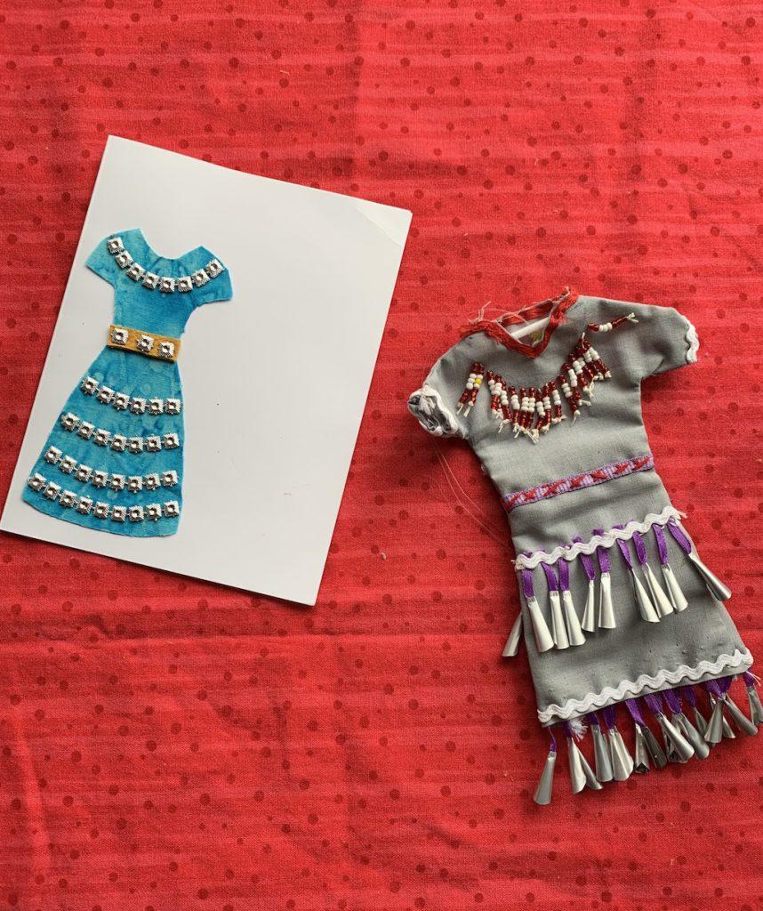 Jingle Dress Cards & Mini Jingle Dresses