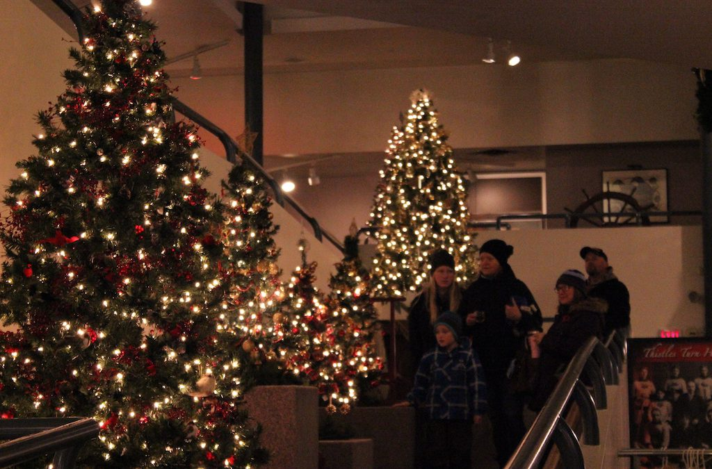 Biz Lights Tree Lighting & The Muse Christmas Open House