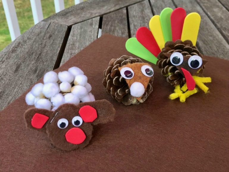 Family Crafternoon: Pinecone Critters