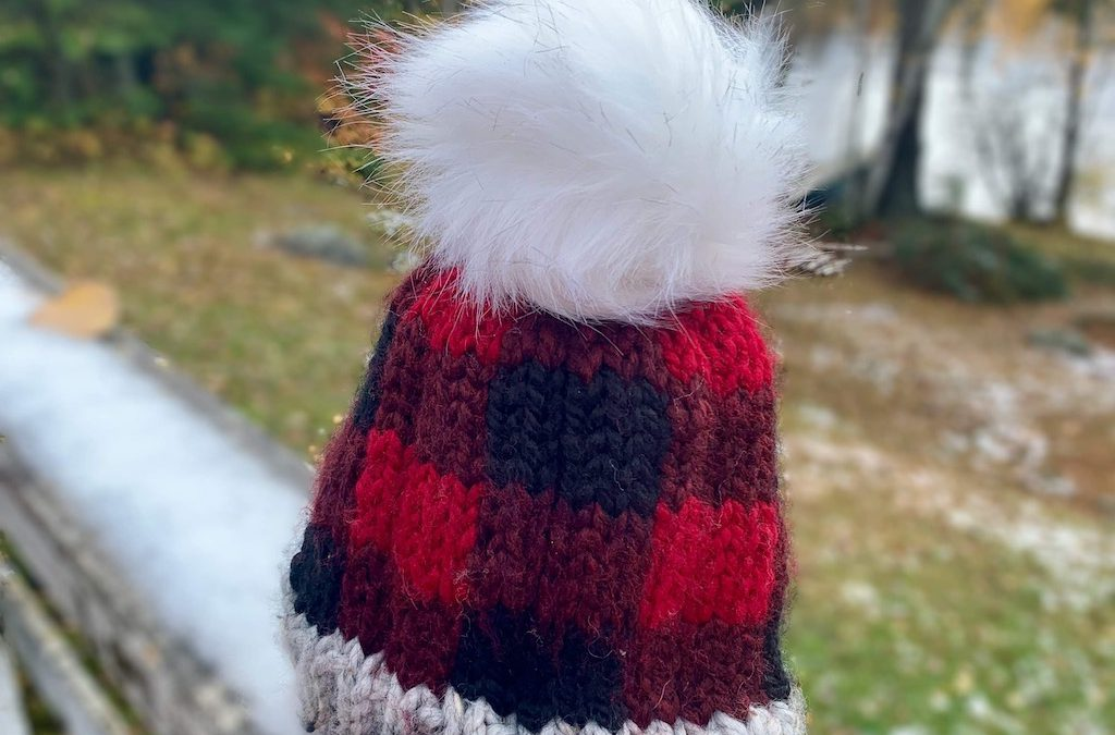 Beginner Knitting: Buffalo Plaid Hat – 2 classes