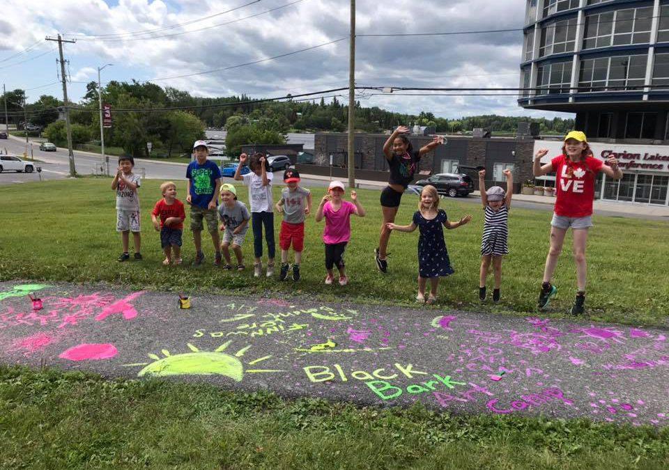 Outdoor Creations! Summer Art Camp with Black Bark Studio