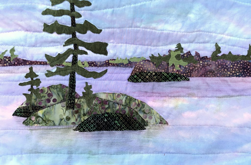 Quilting the Earth, Sky, and Water (Phillips' Style)