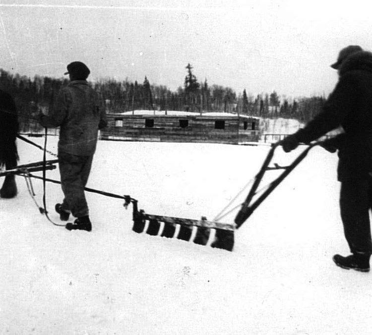 Ice Harvesting Plow
