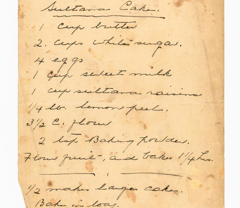 Recipes from the Collection, pt. 1