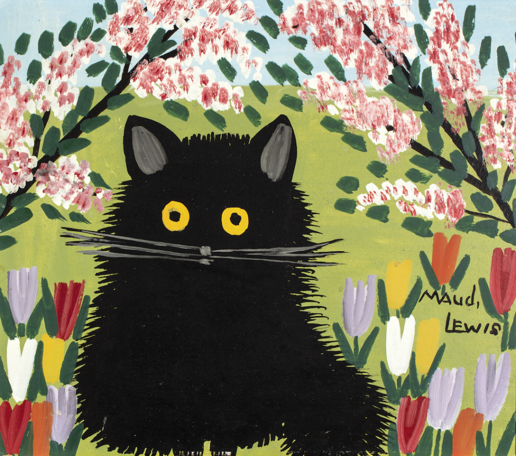 Painting Cats like Maud Lewis (ages 9-15)