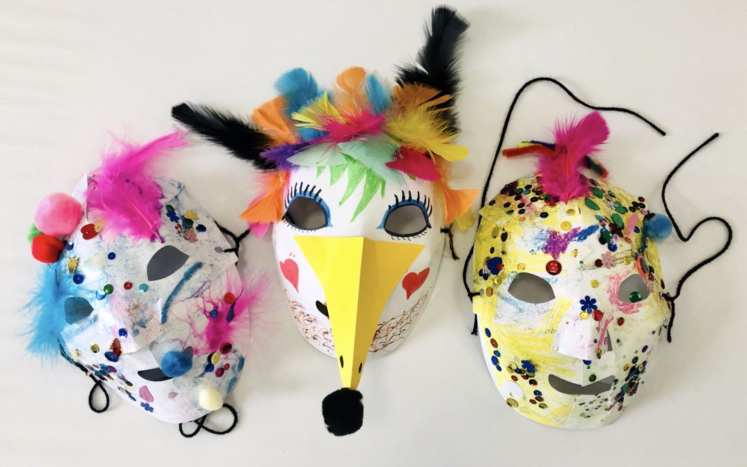Family Crafternoon: Mask-Making