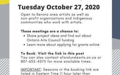Online Office Hours with Ontario Arts Council