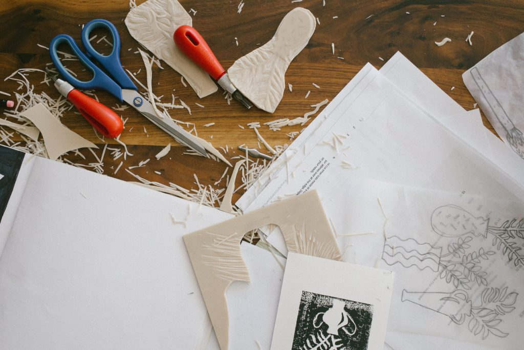 Intro to Relief Printmaking