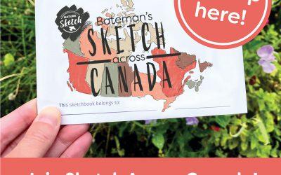 Bateman's Sketch Across Canada