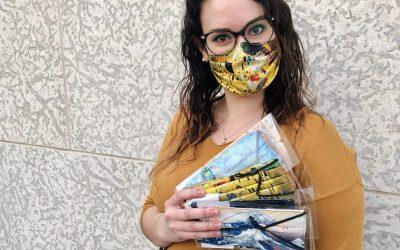 Shop the Muse: Fine Art Face Masks