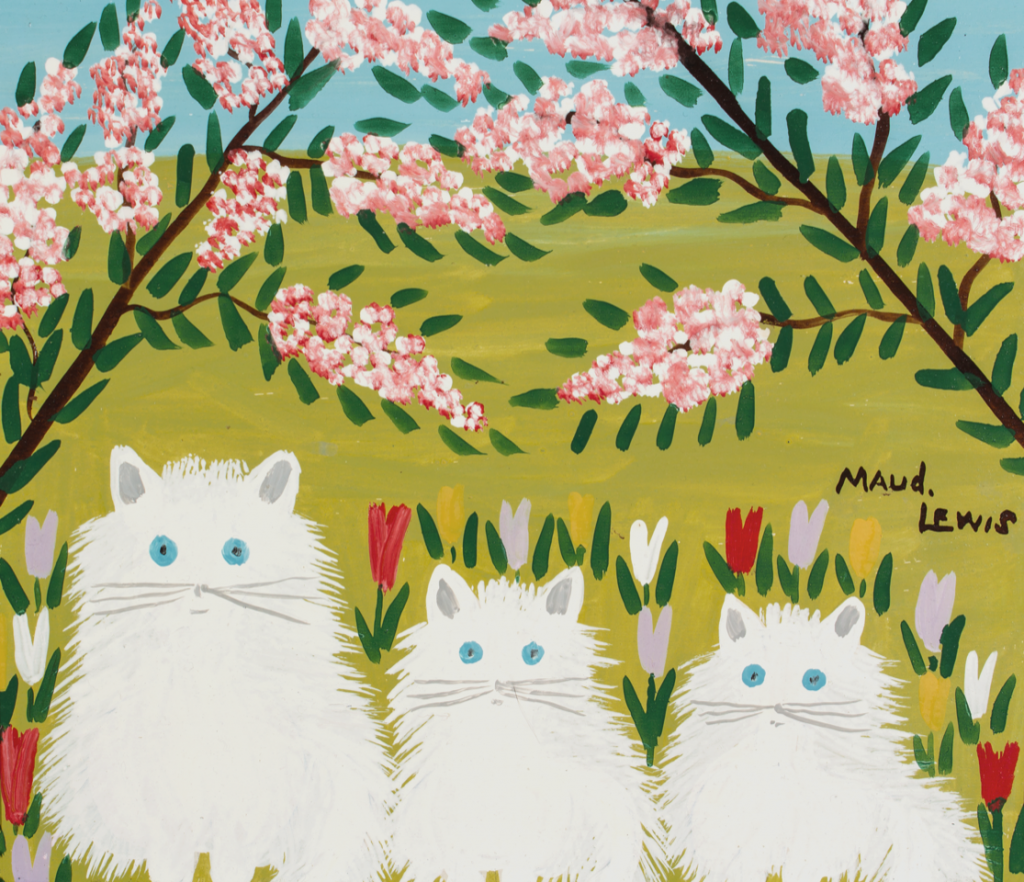 Painting Cats in the Style of Maud Lewis (ages 16+)