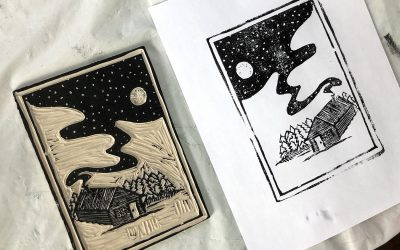 In the Studio: Intro to Relief Printmaking