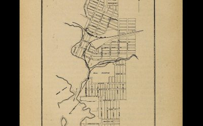 Archives Awareness Week 2021: Plan of Rat Portage Water Works System (1899)