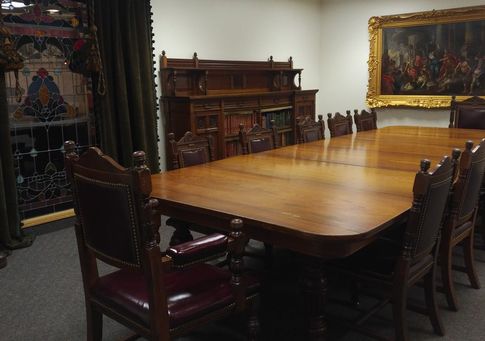 Cherish An Antique Day: The Museum Boardroom Table