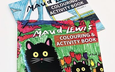 Shop the Muse: Maud Lewis Colouring & Activity Books