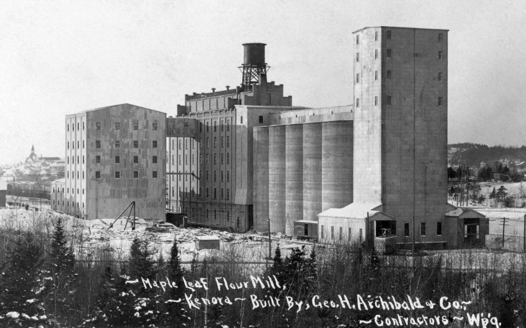 Did You Know: The Keewatin-Kenora area was the Flour Milling Capital of Canada in 1916