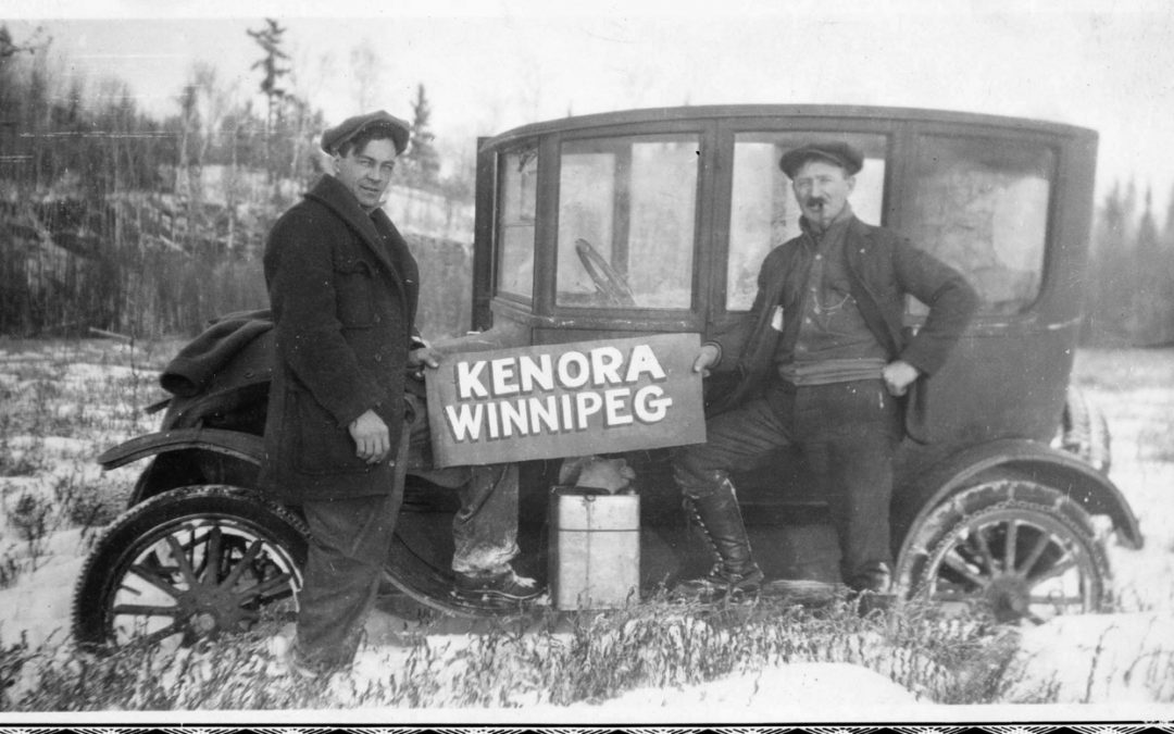 Pack the Shovel: Four Frozen Swedes and the First Car Trip to Winnipeg