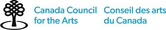 Logo for the Canada Council for the Arts which provided funding for the exhibition STORY TREES.