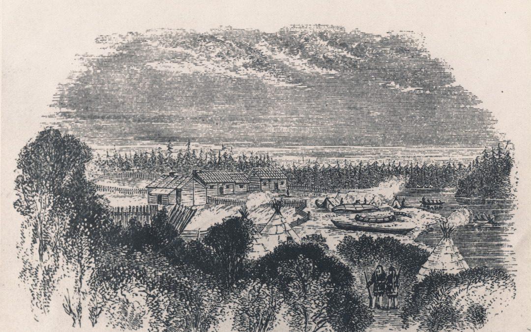 The Hudson's Bay Company in Rat Portage
