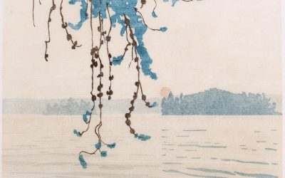 """From the Collection: Walter J. Phillips, """"Smoke Haze, Lake of the Woods"""" (1935)"""