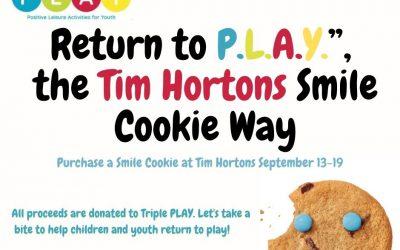Smile Cookie Week: September 13-18, 2021
