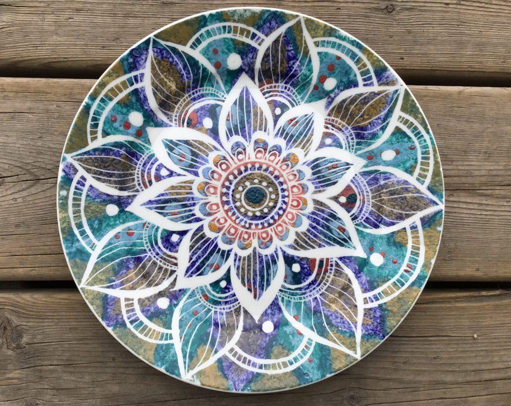 Mandala on a Plate with Kris Goold